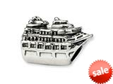 Reflections™ Sterling Silver Cruise Ship Bead / Charm style: QRS1651