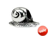 Reflections™ Sterling Silver Snail Bead / Charm style: QRS252