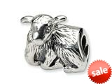 Reflections™ Sterling Silver Lamb Bead / Charm style: QRS264