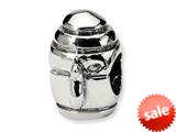 Reflections™ Sterling Silver Teapot Bead / Charm style: QRS279