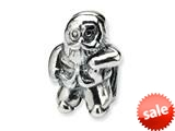 Reflections™ Sterling Silver Santa Claus Bead / Charm style: QRS295