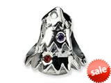 Reflections™ Sterling Silver Christmas Tree Bead / Charm style: QRS299
