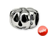 Reflections™ Sterling Silver Jack o Lantern Bead / Charm style: QRS301