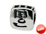 Reflections™ Sterling Silver Chinese Wealth Bead / Charm style: QRS312