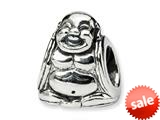 Finejewelers Reflections™ Sterling Silver Buddha Bead / Charm style: QRS329