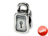 Reflections™ Sterling Silver Padlock Bead / Charm style: QRS344