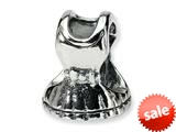 Reflections™ Sterling Silver Dress Bead / Charm style: QRS359
