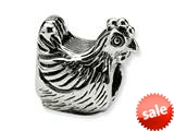 Reflections™ Sterling Silver Chicken Bead / Charm style: QRS381