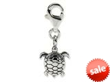 Reflections™ Sterling Silver Turtle Click-on / Lobster Clasp for Bead / Charm Bracelets style: QRS569