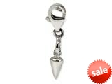 Reflections™ Sterling Silver Arrowhead Click-on / Lobster Clasp for Bead / Charm Bracelets style: QRS582