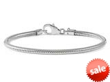 Reflections Sterling Silver Lobster Clasp Bead Bracelet 7.00 inches style: QRS984-7