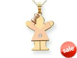 The Kids® kid Charm / Pendant Necklace Chain Included style: XK500AA