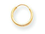 14k Madi K Endless Hoop Children Earrings style: SE194CD