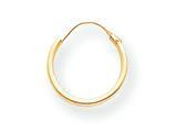 14k Yellow Gold Madi K Hoop Children Earring style: SE211