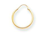 14 kt Yellow Gold Madi K Hoop Children Earring style: SE212CD
