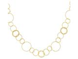 24 Inch 14k Yellow Combo Circle Chain Necklace style: SF166824