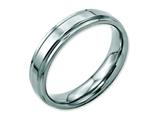 Chisel Stainless Steel Ridged-edge 5mm Polished Weeding Band style: SR100