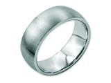 Chisel Stainless Steel 8mm Brushed Weeding Band style: SR18