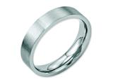 Chisel Stainless Steel Flat 5mm Brushed Weeding Band style: SR4