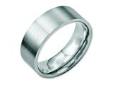 Chisel Stainless Steel Flat 8mm Brushed Weeding Band style: SR6