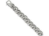 Chisel Stainless Steel Large and Small Ovals 8.25in Bracelet style: SRB1053825