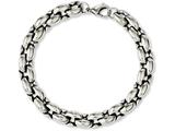 Chisel Stainless Steel Polished Ovals 8.25in Bracelet style: SRB1091825