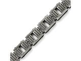 Chisel Stainless Steel Brushed W/cz Bracelet style: SRB1415875