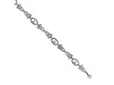 Chisel Stainless Steel Polished Claddagh And Trinity Knot Bracelet style: SRB1621775