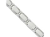 Chisel Stainless Steel Polished And Brushed Bracelet style: SRB1649875