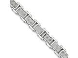 Chisel Stainless Steel Polished And Brushed Bracelet style: SRB166785
