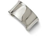 Chisel Stainless Steel Polished Bangle style: SRB2072