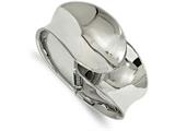 Chisel Stainless Steel Polished Hinged Bangle style: SRB2075