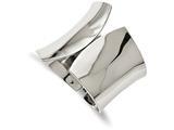 Chisel Stainless Steel Polished Hinged Bangle style: SRB2076