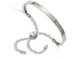Chisel Stainless Steel Polished Adjustable Bracelet style: SRB2148