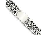 Chisel Stainless Steel Polished 7.75in Id Bracelet style: SRB29585