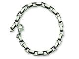 Chisel Stainless Steel Link Bracelet - 8 inches style: SRB371