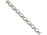 Chisel Stainless Steel Stampato 7.5in Bracelet style: SRB78175