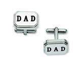 Chisel Stainless Steel Dad Cuff Links style: SRC213