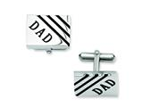 Chisel Stainless Steel Dad Cuff Links style: SRC214