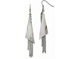 Chisel Stainless Steel Polished Shepherd Hook Dangle Earrings style: SRE1029