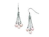 Chisel Stainless Steel Fw Cultured Pearl Shepherd Hook Earrings style: SRE691