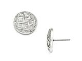 Chisel Stainless Steel Polished Post Earrings style: SRE861