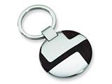 <b>Engravable</b> Chisel Stainless Steel Wood Key Chain style: SRK118