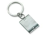 Chisel Stainless Steel Brushed and Polished Key Chain style: SRK120