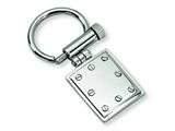 <b>Engravable</b> Chisel Stainless Steel Key Chain style: SRK121