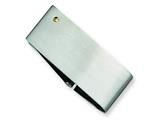 Chisel Stainless Steel 14k Gold Accent Screw Money Clip style: SRM123