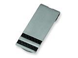 Chisel Stainless Steel Black Carbon Fiber Money Clip style: SRM125