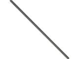 Chisel Stainless Steel 4.0mm 30in Round Curb Antiqued Chain Necklace style: SRN100730