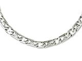 Chisel Stainless Steel Polished Links Necklace style: SRN109224