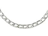 Chisel Stainless Steel Polished Squares Necklace style: SRN110624